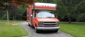 Mold Removal and Water Damage Cleanup Vehicle